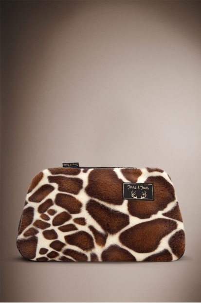 Giraffe Make Up Bag