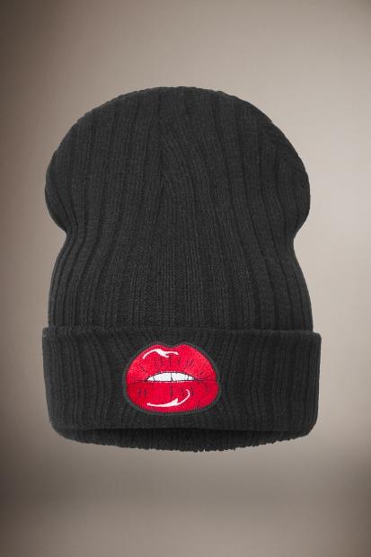 Black Lips Beanie