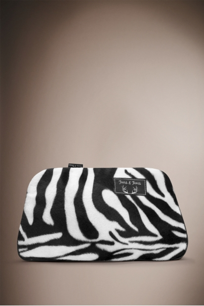 Zebra Make Up Bag