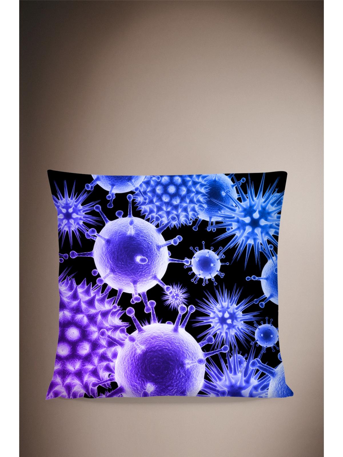 Bacteria Pillow